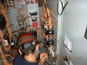 electrical closet