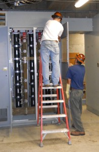 Substation installation and maintenance