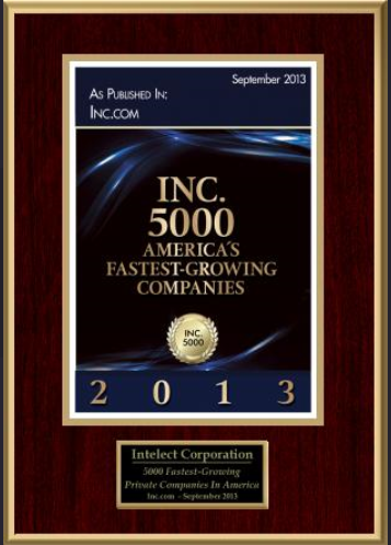 Inc.com 5000 Fastest-Growing Private Companies